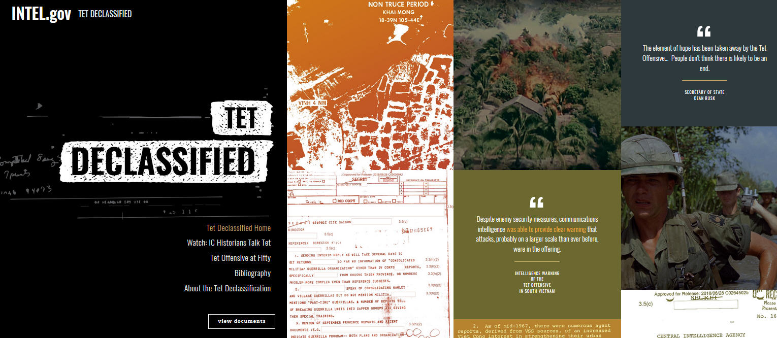 IC Releases Second Wave of Declassified Tet Offensive