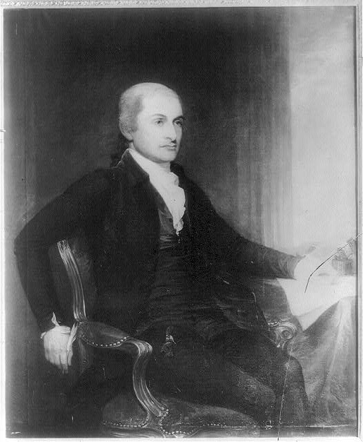 John Jay, Image courtest of the Library of Congress