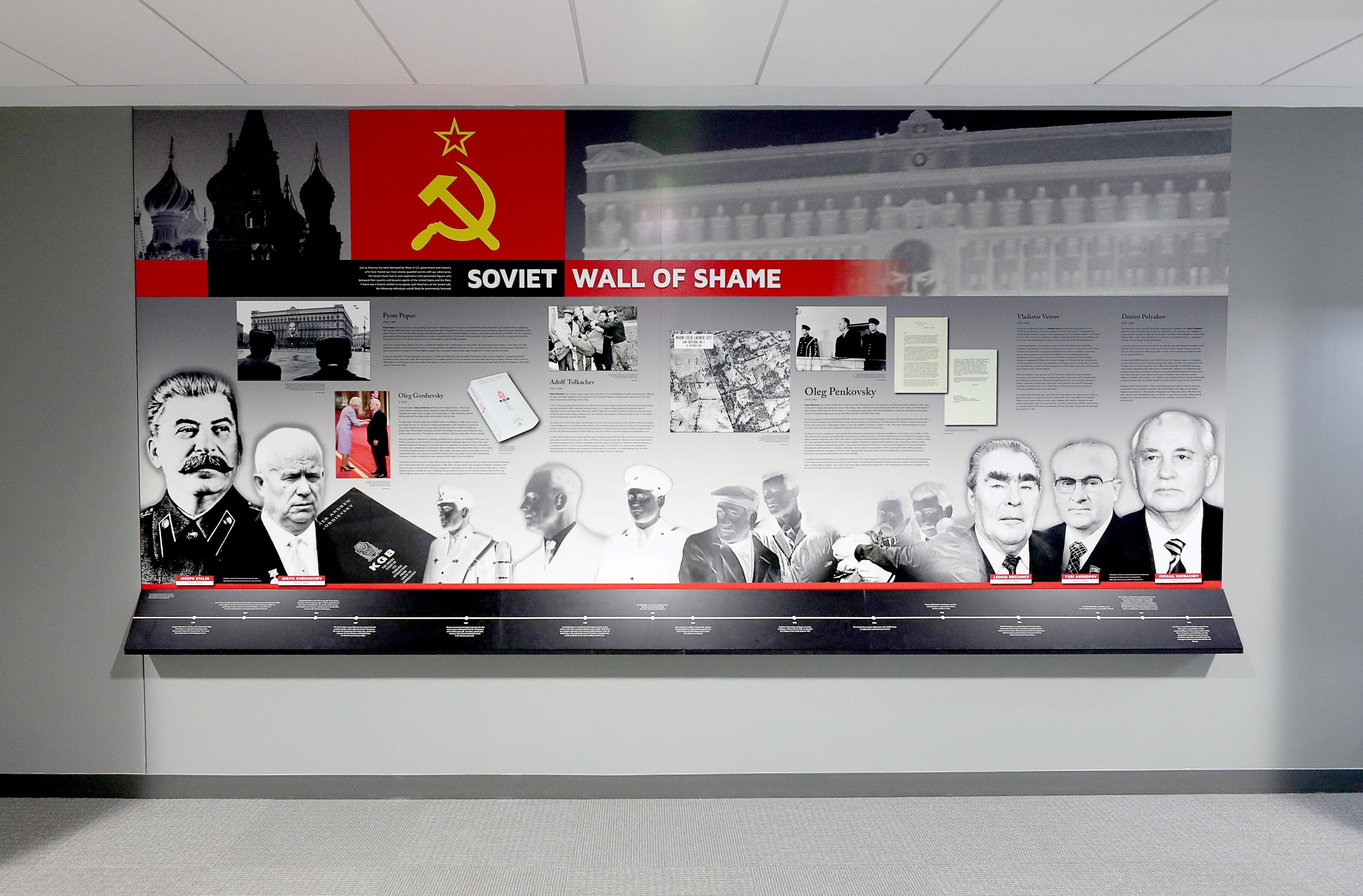 Soviet Wall of Shame