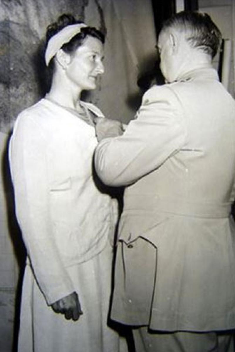 1945 Virginia Hall