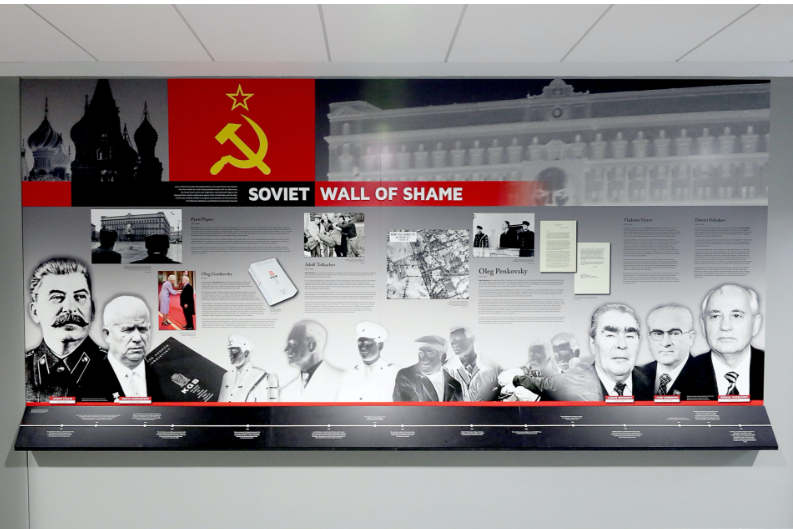 Soviet Wall of Shame details Soviets who spied for the West
